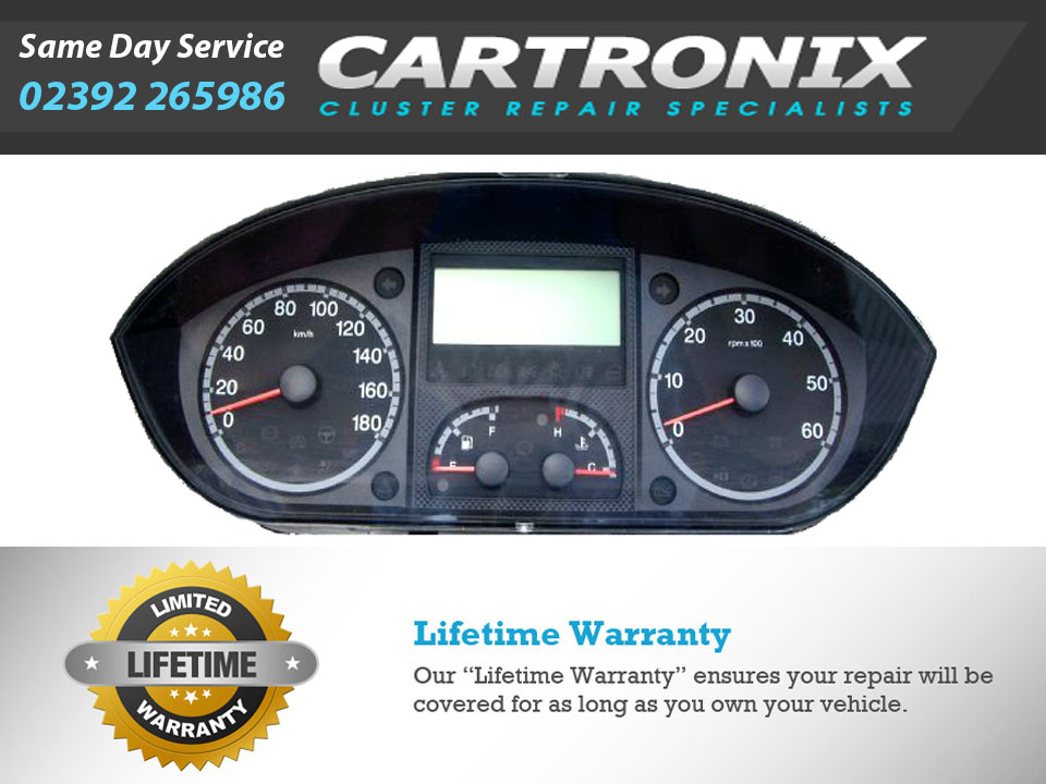 Citroen Relay mk3 Van and Motor Home Instrument Cluster Dash Repair