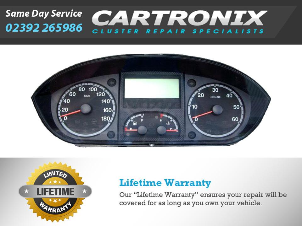 Citroen Jumper mk3 Van and Motor Home Instrument Cluster Dash Repair