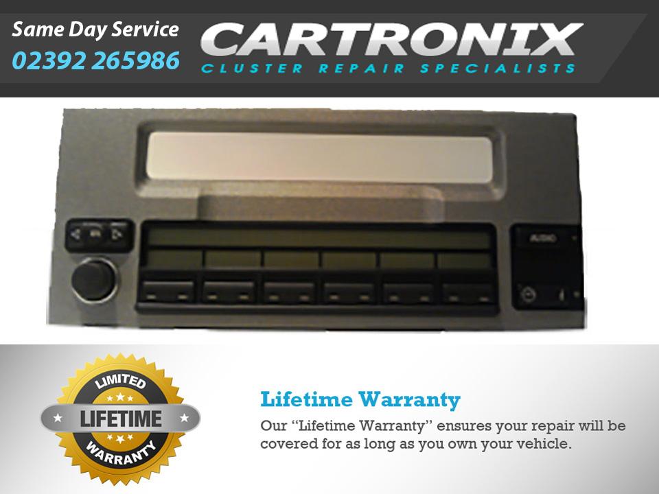 Range Rover Radio and OBC Pixel Repair L322